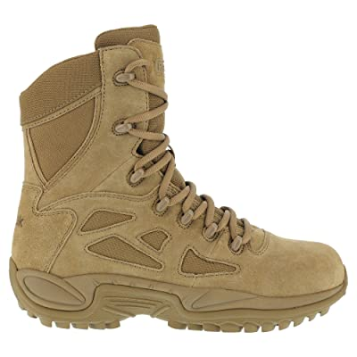 "Reebok Work Rapid Response RB 8"" Men's Boot 10 D(M) US Coyote 