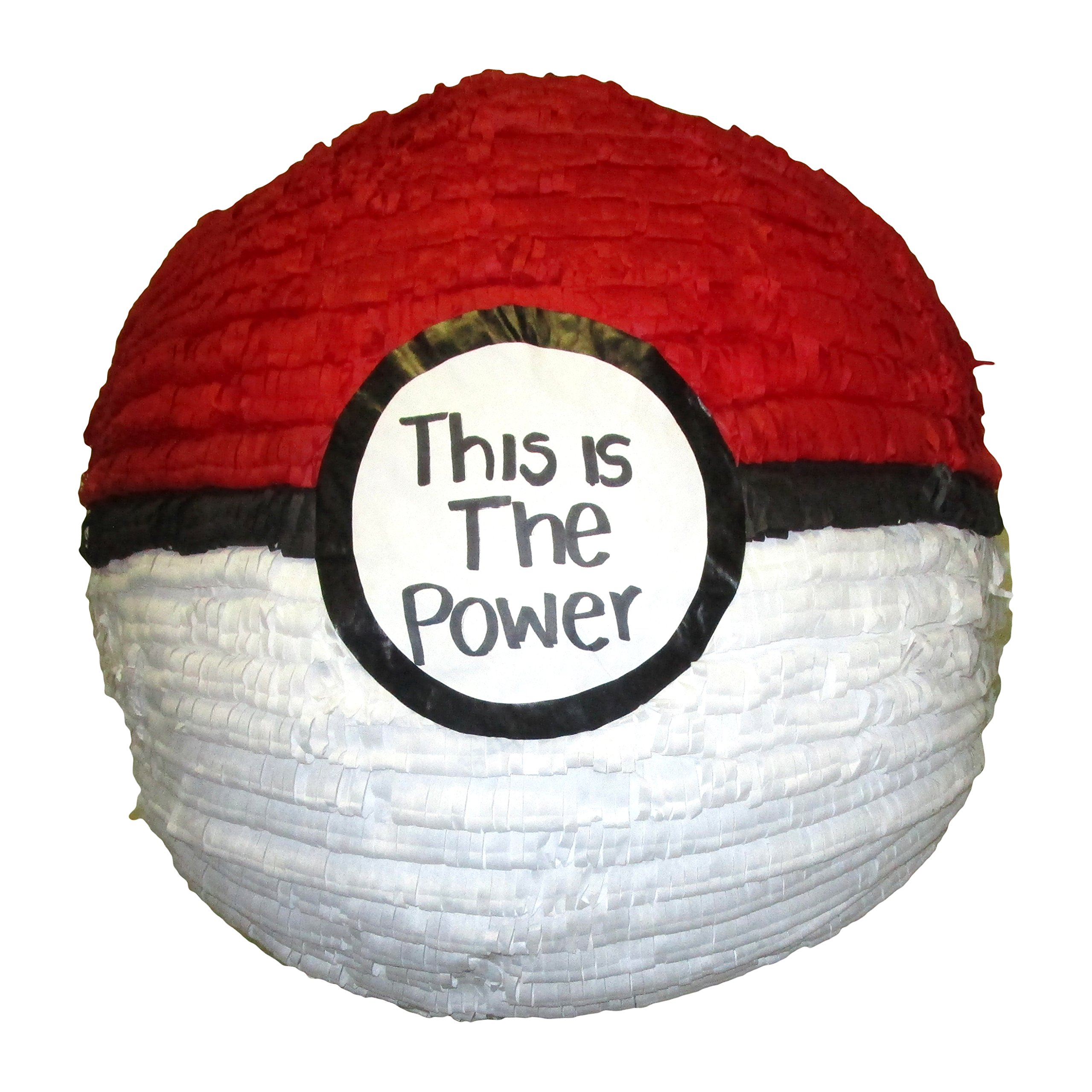 Pinatas Ball for Pokemon Party Theme, Game, Decoration and Photo Prop