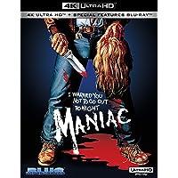 Maniac (4K Uhd Blu-Ray)