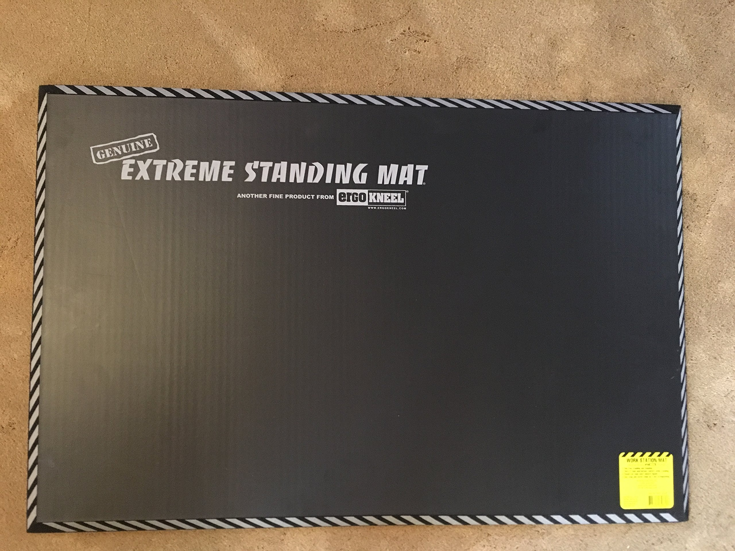 5032OG Extreme Standing Mat Office Gray 2' x 3'x 1'' by Extreme Standing Mat