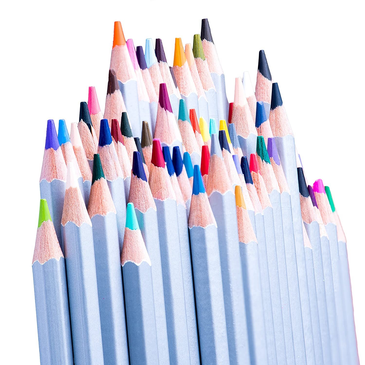 Sketching /& Coloring Books CreyArt Color Pencil Set with 48 Drawing Teens /& Children for Art Shading /& Coloring Pencils Colored Pencils for Adults