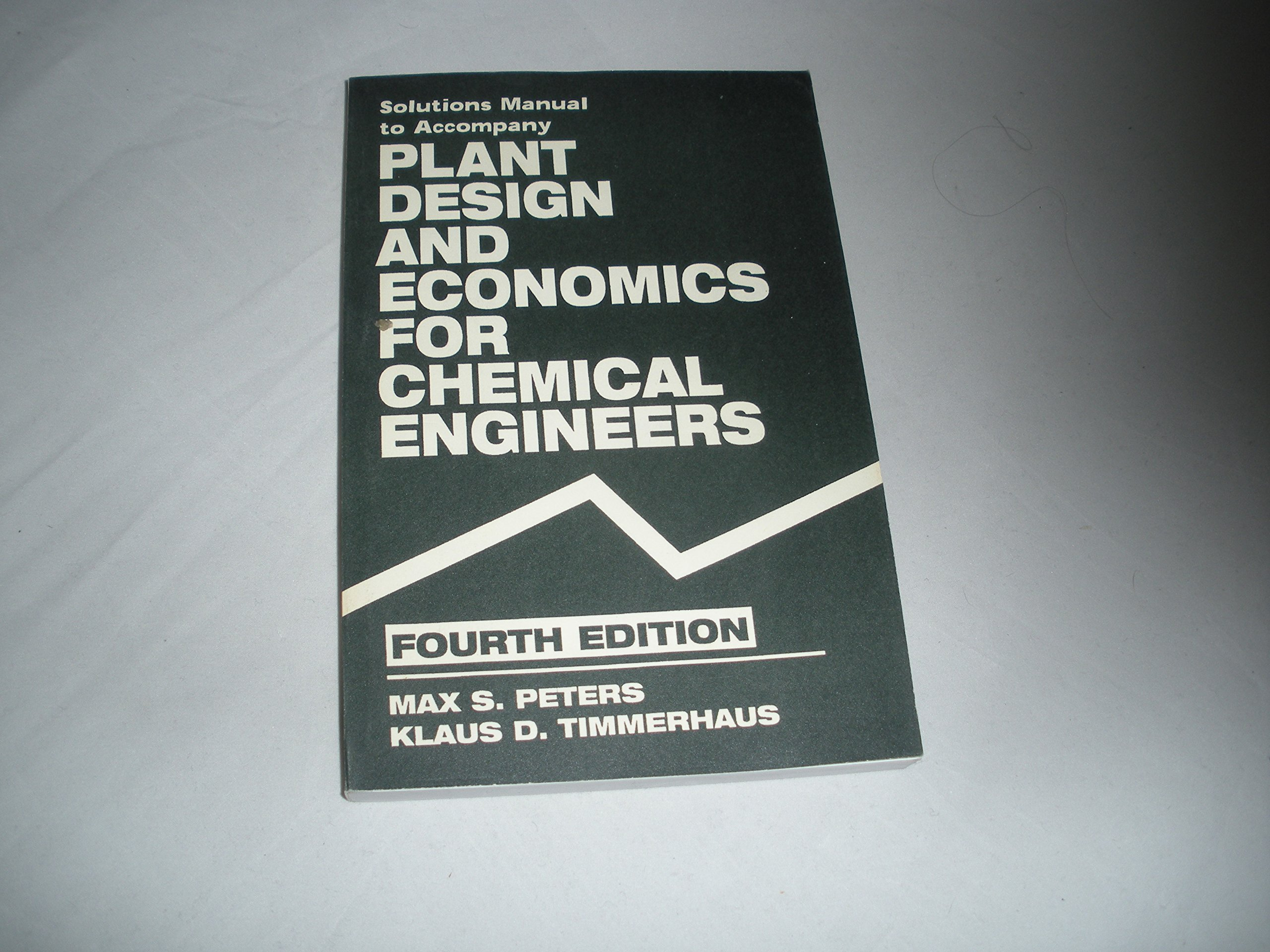 Ri Sm Plant Design & Econ Chem (Chemical Engineering): Peters M S:  9780070496149: Amazon.com: Books