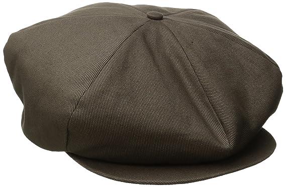 Brixton Men's Ollie Cap, Charcoal, X-Small