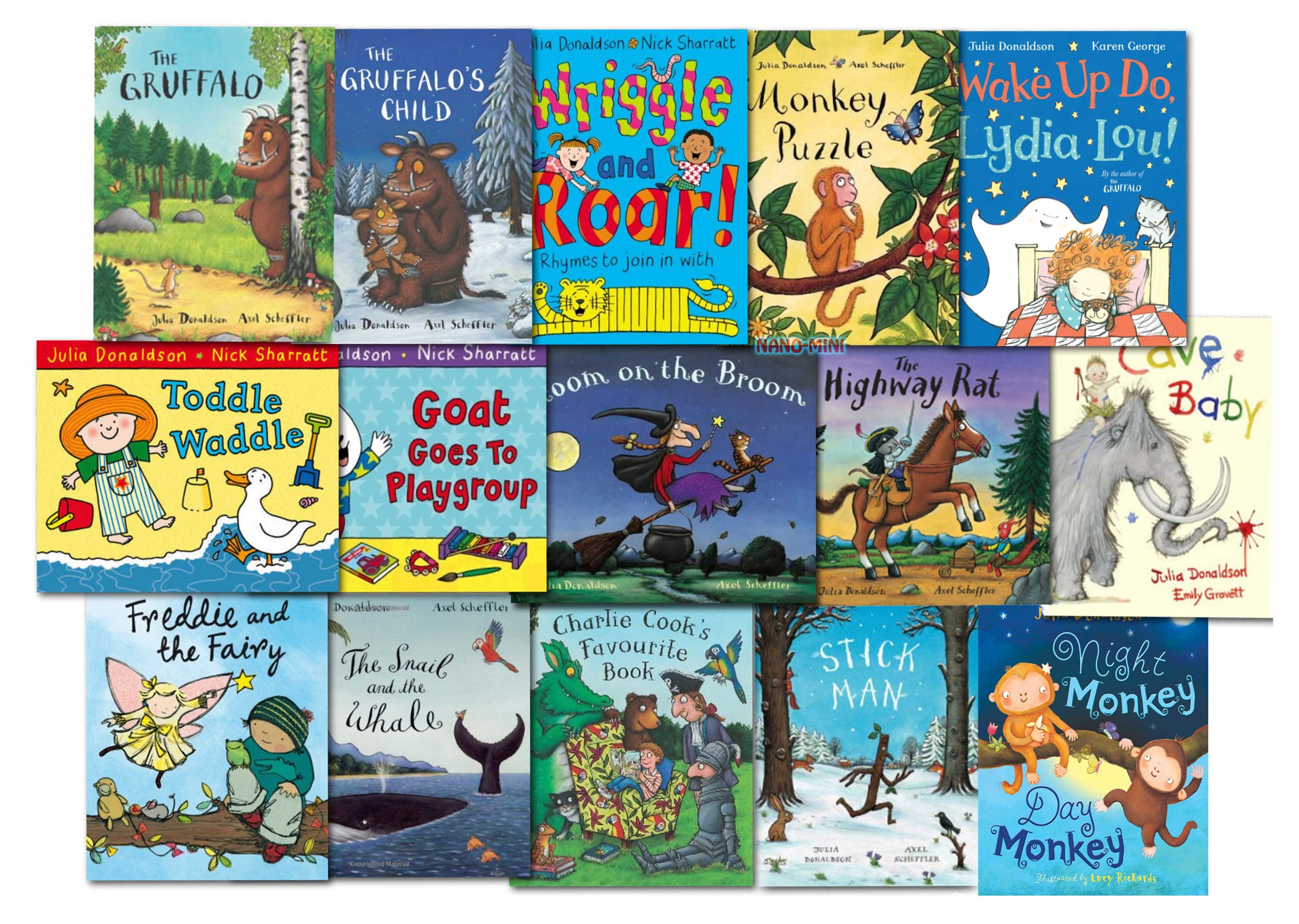 Julia Donaldson Collection 15 Books Set Pack NEW: Amazon.es: Julia Donaldson: Libros