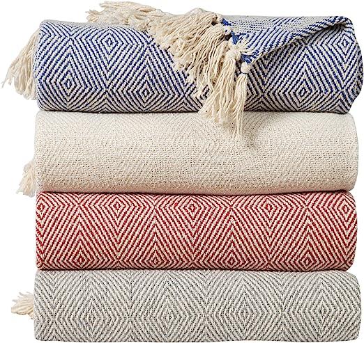 Mantas para sofa algodon