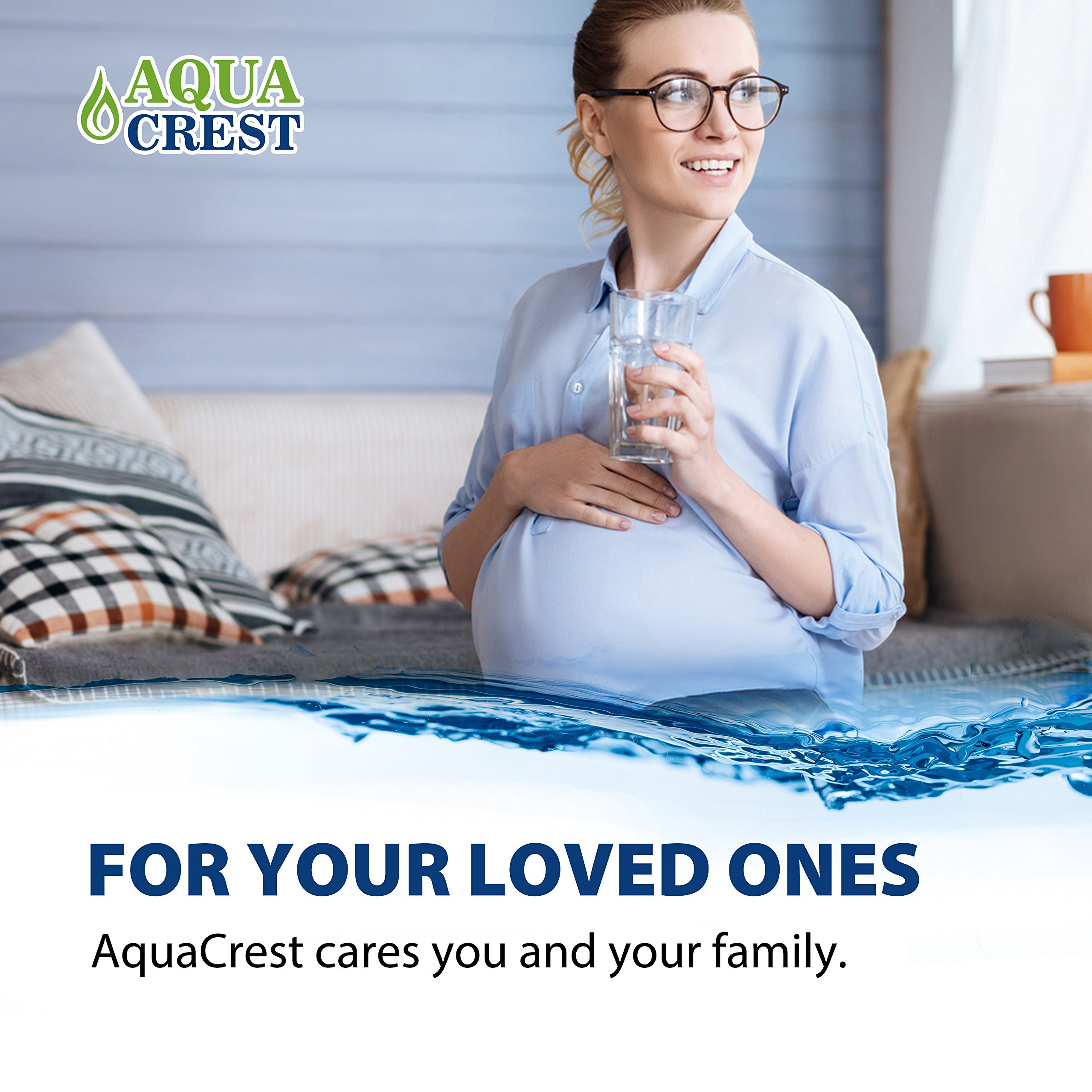 AQUACREST RF-3375 Replacement Water Filter, Compatible with Pur RF-3375 Faucet Water Filter (Pack of 3) by AQUA CREST (Image #7)