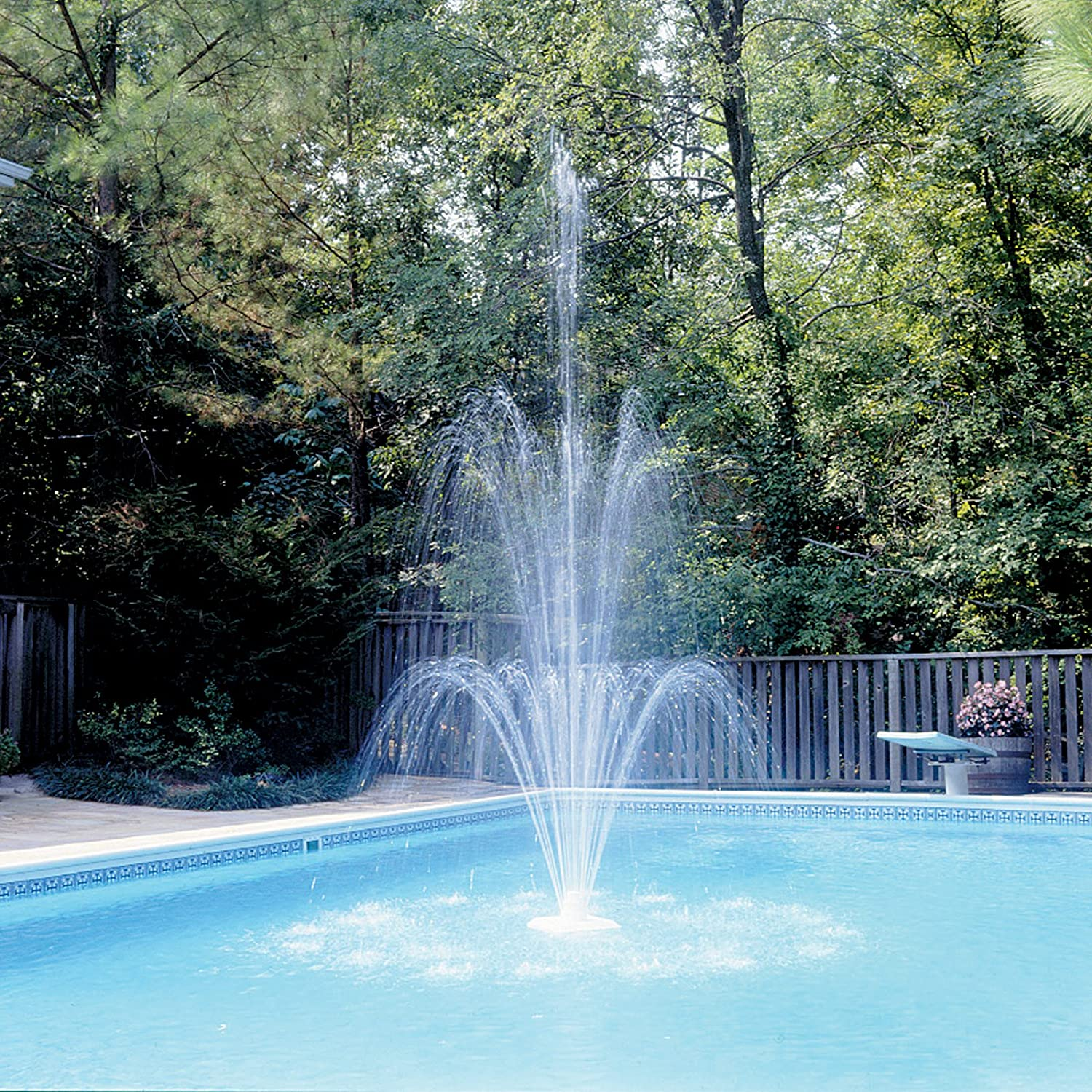 Swimming Pool Fountains Images Galleries With A Bite
