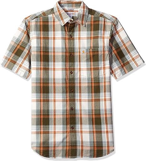 Carhartt - Camisa de manga corta para hombre