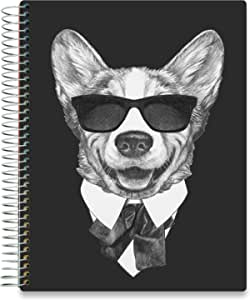 Monthly Calendar Tabs and Stickers 2020 2021 Academic Year, Q2SO Hardcover with 8.5x11 Colorful Interior Vertical Weekly Layout Tools4Wisdom Daily Planner 2020-2021
