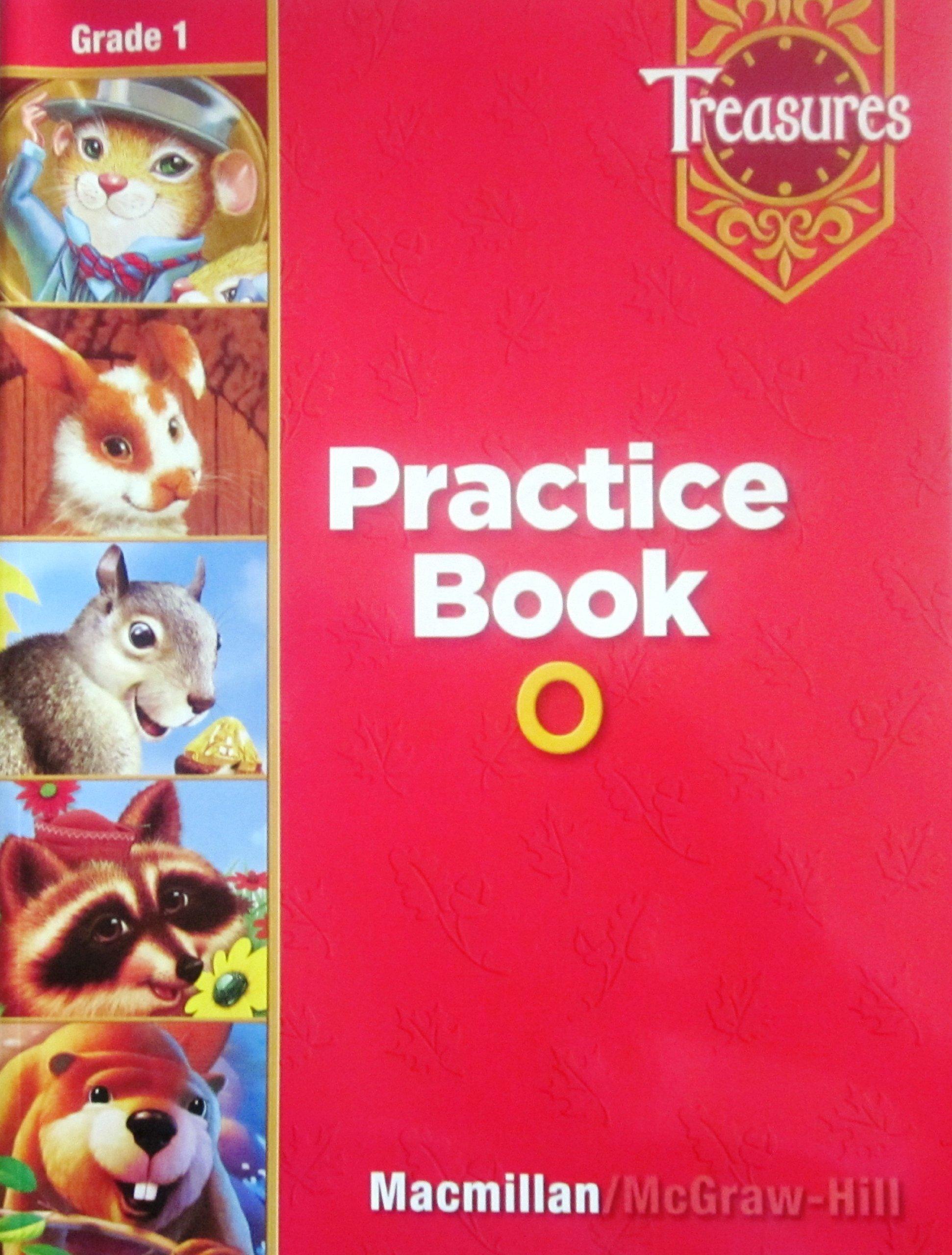 Treasures Practice Book O: Grade 1: macmillan: 9780022009182