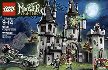 amazoncom lego monster fighters vampyre castle 9468 discontinued by manufacturer lego monster fighters toys games - Lego Monstre