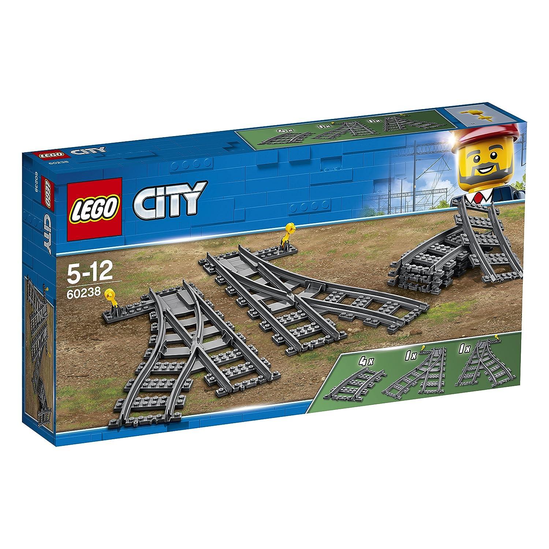 LEGO City - Les aiguillages - 60238 - Jeu de Construction