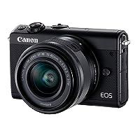 Canon EOS M100 Fotocamera Digitale e Obiettivo, Nero