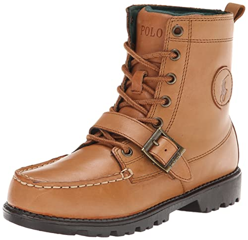 854cc62a151 Polo Ralph Lauren Kids Ranger High II Fashion Lace Boot (Toddler/Little  Kid/Big Kid)