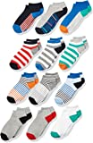 Spotted Zebra Kids' 12-Pack Low-Cut Socks