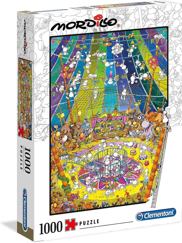 Clementoni 39537 Das Spiel 1000 Teile Puzzle Mordillo Collection