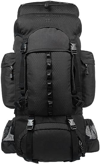 amazonbasics internal frame hardback hiking backpack with