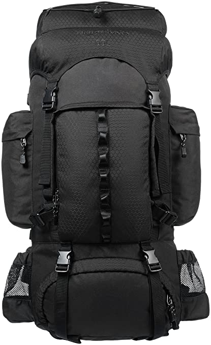 8c96dacc49fc0 Amazon.com   AmazonBasics Internal Frame Hiking Backpack with ...