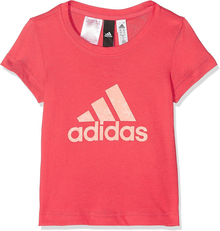 Bambina adidas YG Logo Tee Maglietta