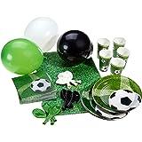 Karaloon P10001 - Partyset Fußball, Größe XL, 53-teilig