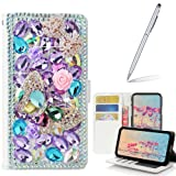 Galaxy J7 V Case with 2 in 1 Stylus and Ballpoint