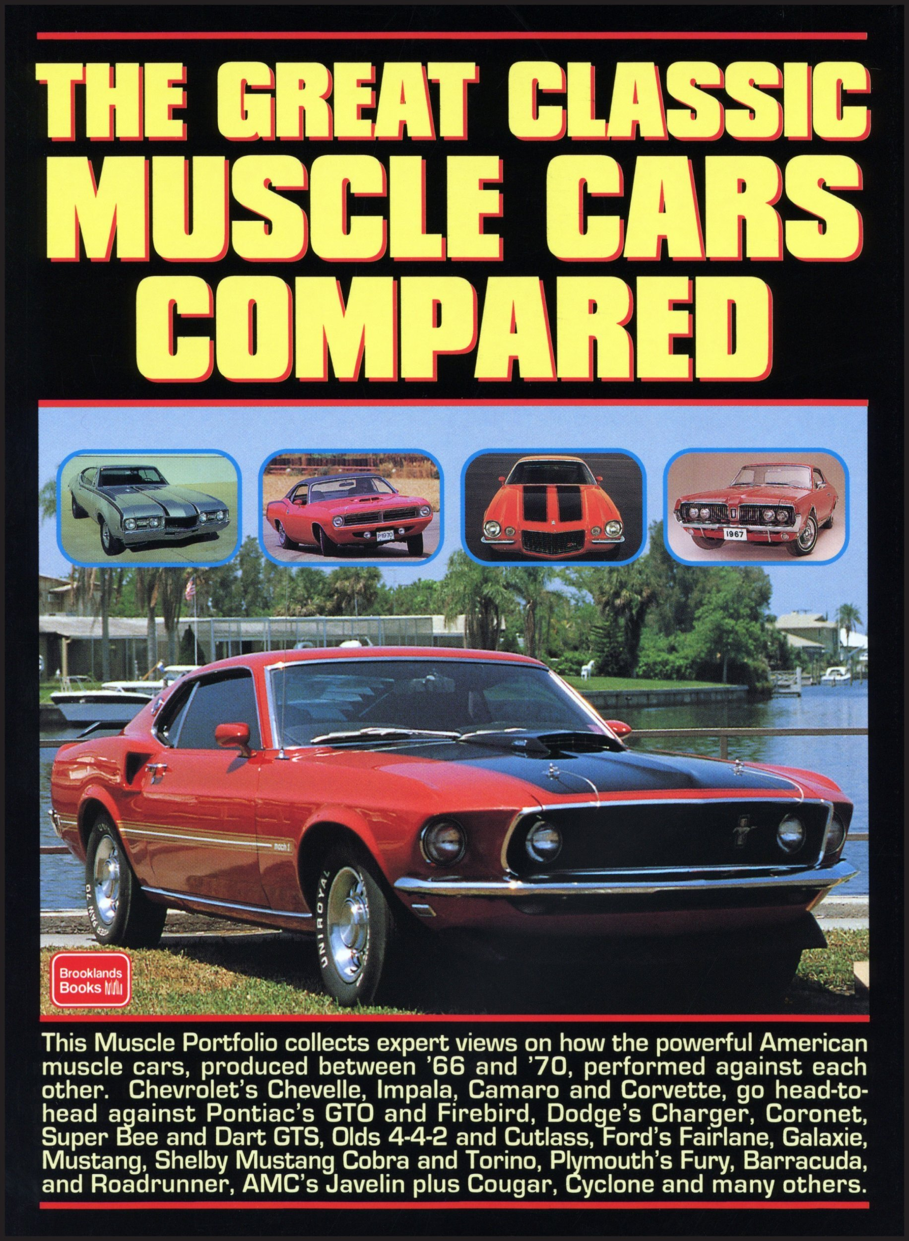 The Great Classic Muscle Cars Compared: R.M. Clarke: 9781855204225 ...
