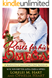 Roses for His Omega: A Mapleville Valentine's Day Novella: M/M Non Shifter Alpha/Omega Mpreg (Mapleville Omegas Book 2)