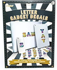 Paladone Vinyl Letter Gadget Decals - Colorful Stickers to Personalize Walls, Laptops, and Other Gadgets