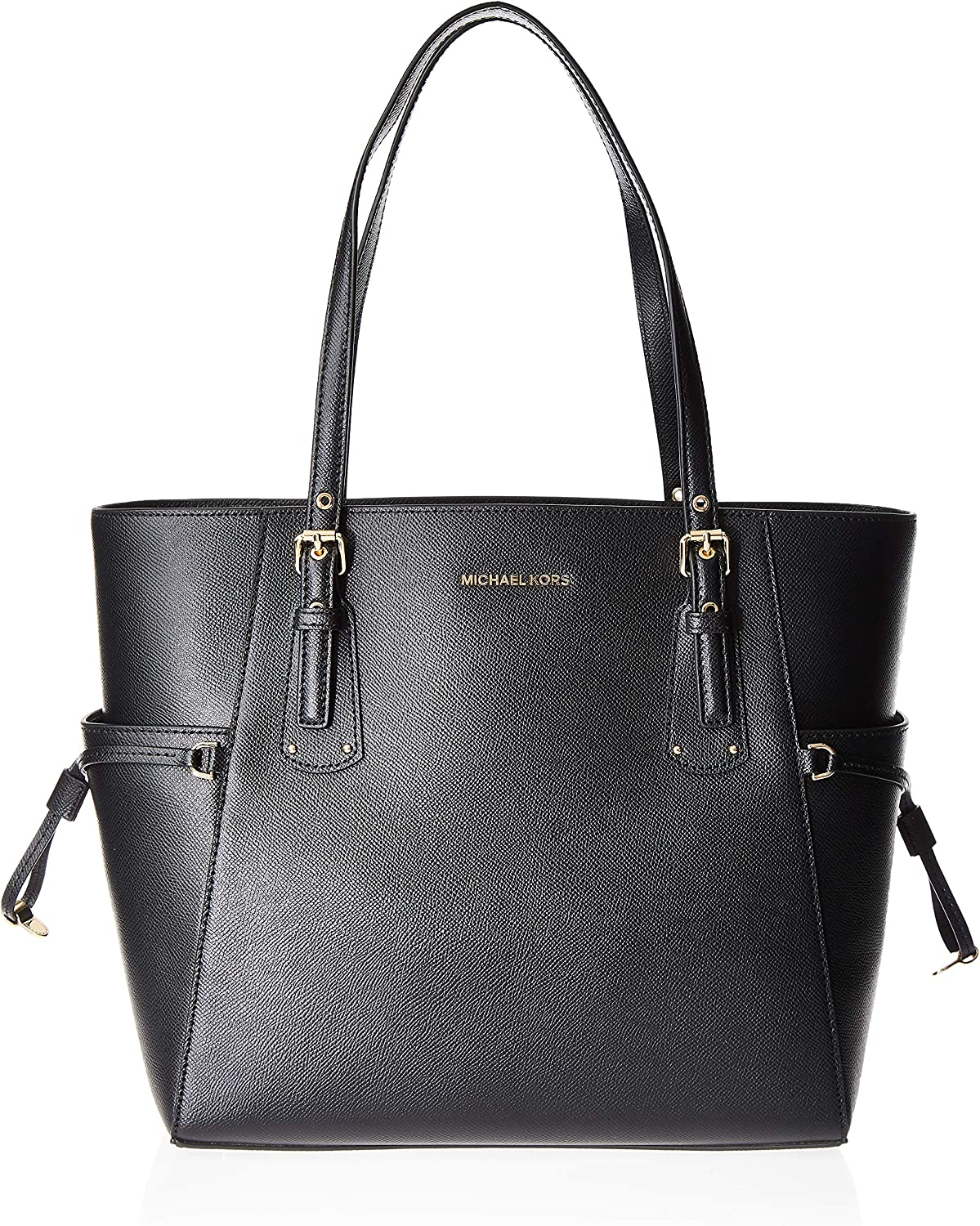 Michael Kors Voyager Crossgrain Leather Totecer Leather Crossbody