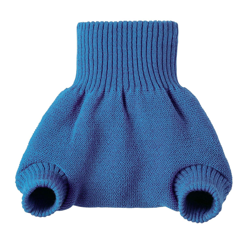 Cobertura para pañal Disana de lana merino orgánica con forma de pantalón azul Talla:62/68 Disana-Germany 26501-081-00501-21