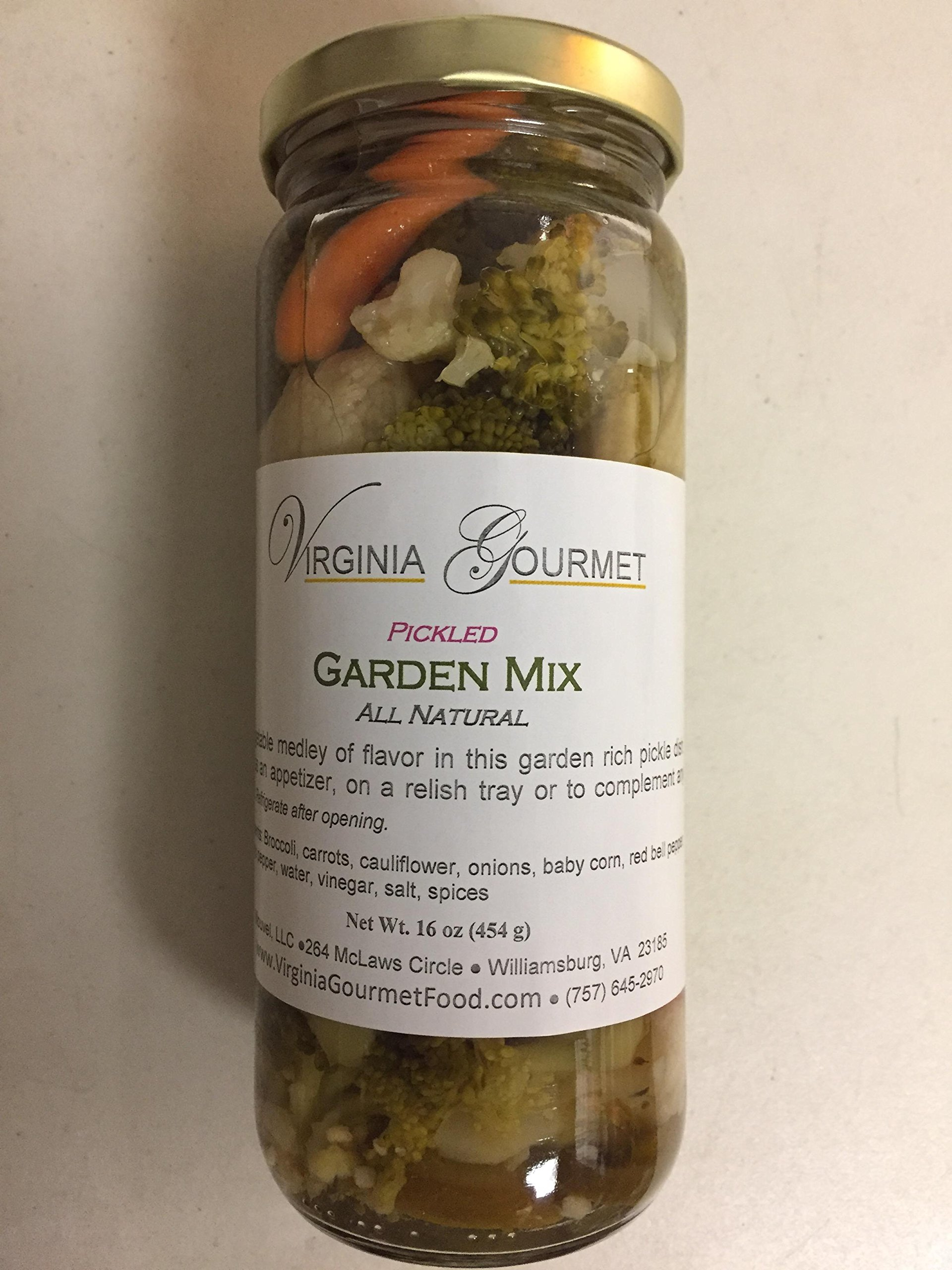 Pickled Garden Vegetable Mix - Virginia Gourmet All Natural
