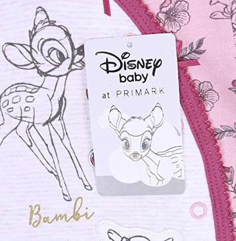 Ensemble Beige-Rose pour b/éb/é Bambi Disney