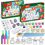 JOYIN 2020 Christmas Art and Craft Advent Calendar 24 Days Christmas Countdown Advent Calendar with Christmas Craft Kit Inclu