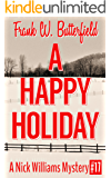 A Happy Holiday (A Nick Williams Mystery Book 17) (English Edition)