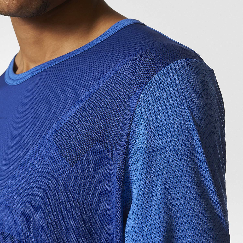 adidas Originals Men EQT Engineered Long Sleeve Crewneck TEE