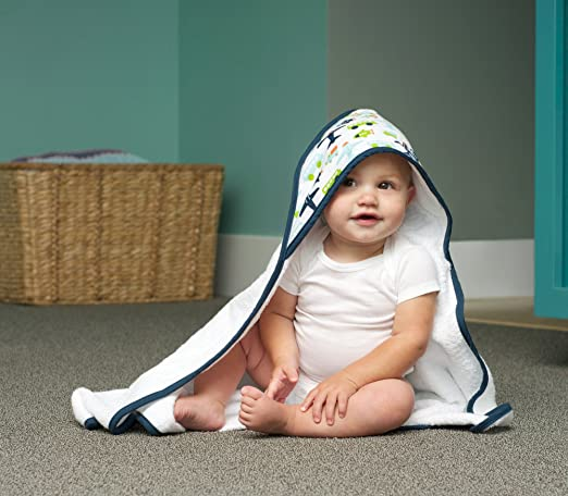 Towels and Linens for Babies - Jj Cole Hooded Towel and Linen Set.