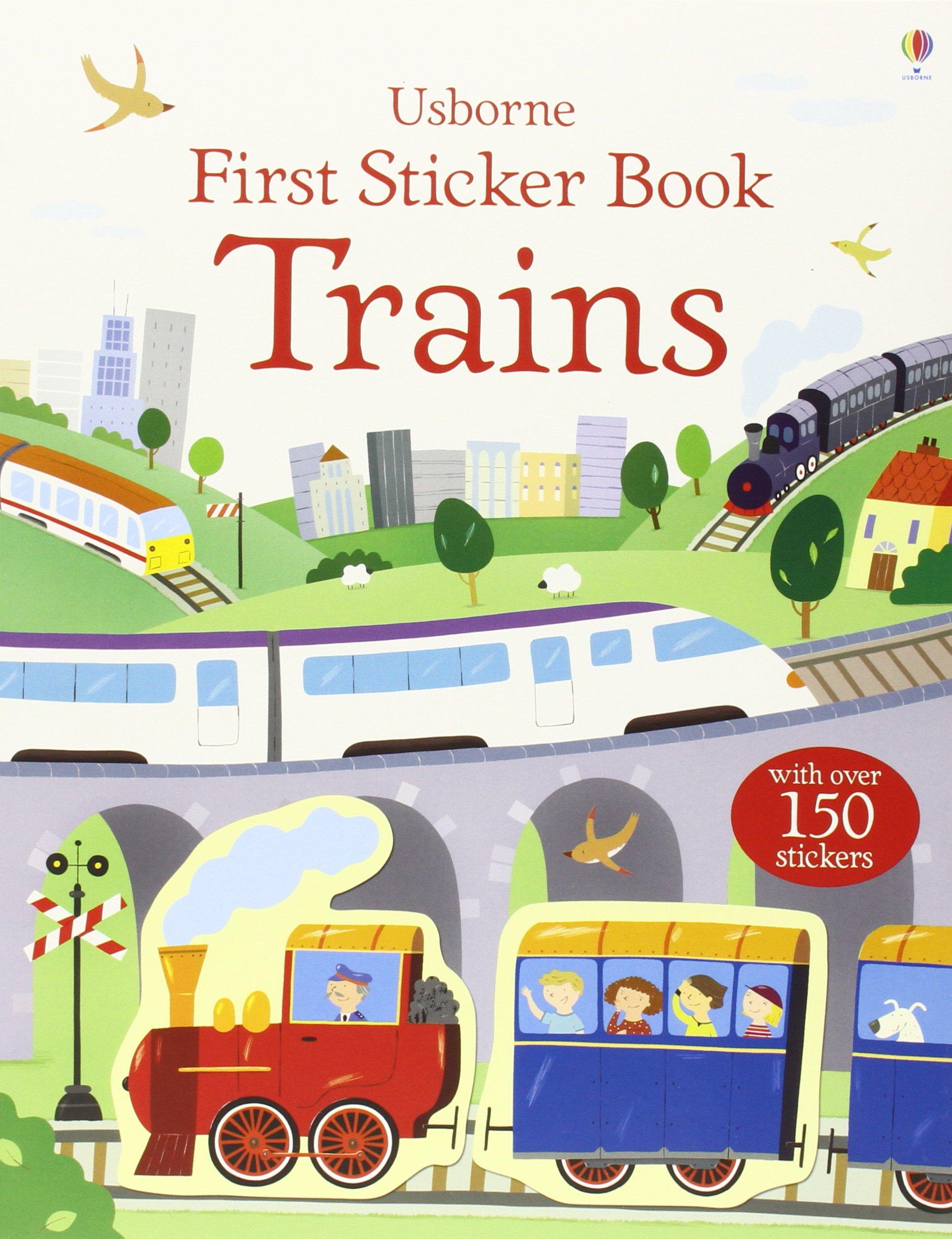 First Sticker Book: Trains (First Sticker Books)