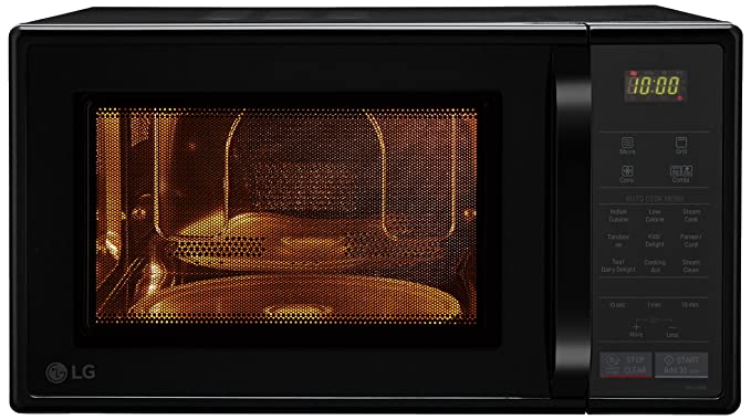 LG 21 L Convection Microwave Oven (MC2146BL, Black)