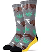 Oooh Yeah Socks Men's Luxury Combed Cotton Athletic Funny