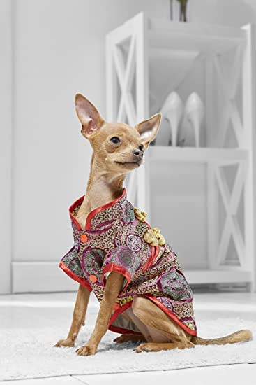 Toy Dog Kimono Costume For Yorkie Chihuahua Papillon Pomchi Japanese Chin Silky (Small Toy Size & Amazon.com : Toy Dog Kimono Costume For Yorkie Chihuahua Papillon ...