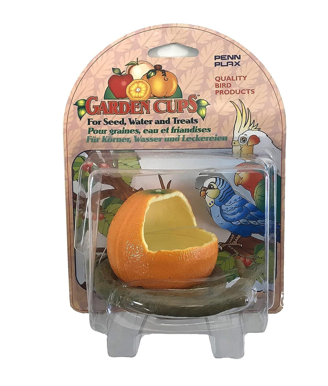 Körnerspender Orange Körnerspender Orange Zoo- Fee BA451