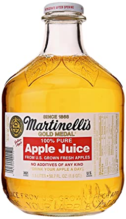Martinelli el zumo de manzana, 1,5 oz: Amazon.com: Grocery ...