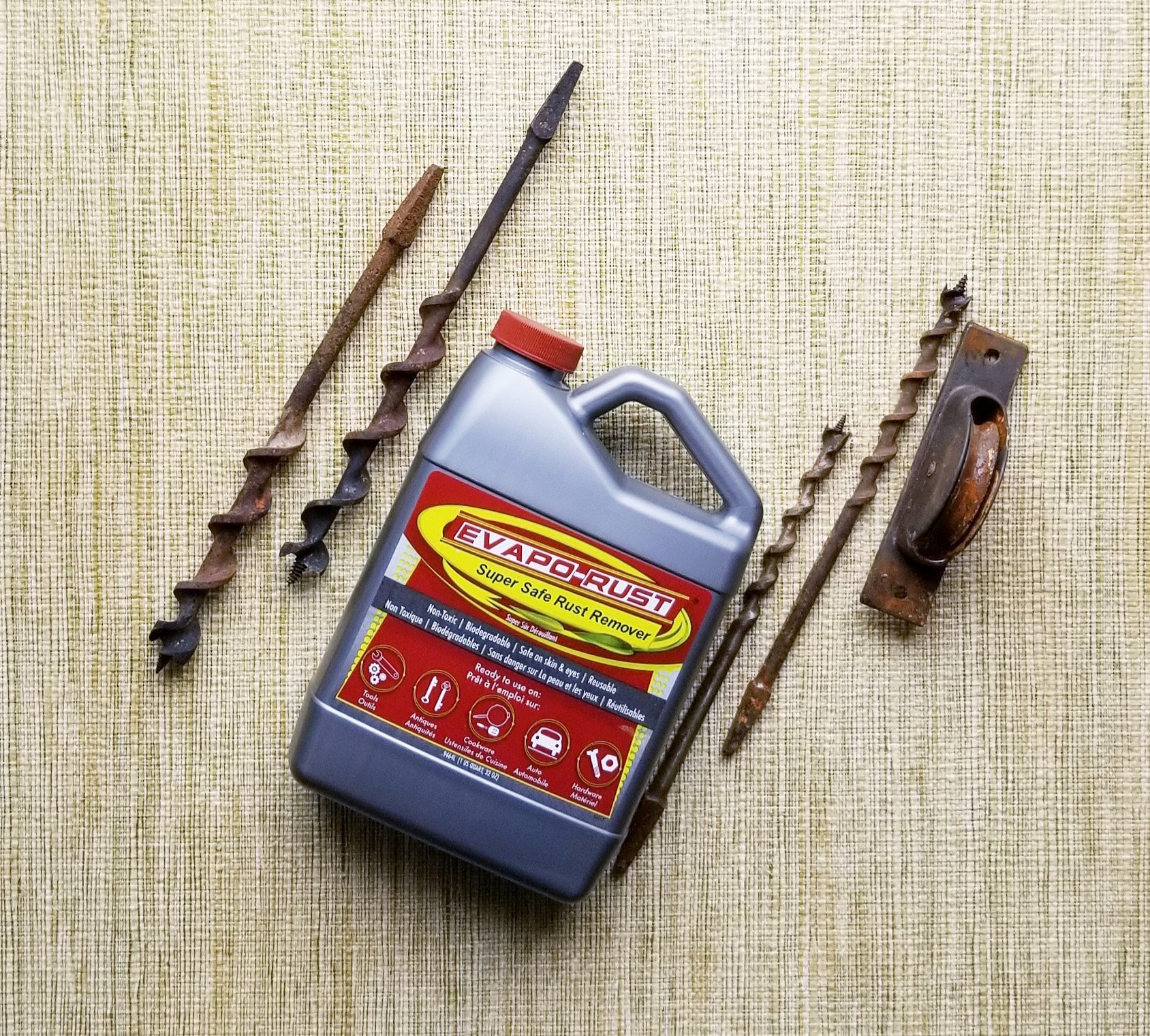 Evapo-Rust The Original Super Safe Rust Remover, Water-based, Non-Toxic, Biodegradable, 5 Gallons by Evapo-Rust (Image #4)
