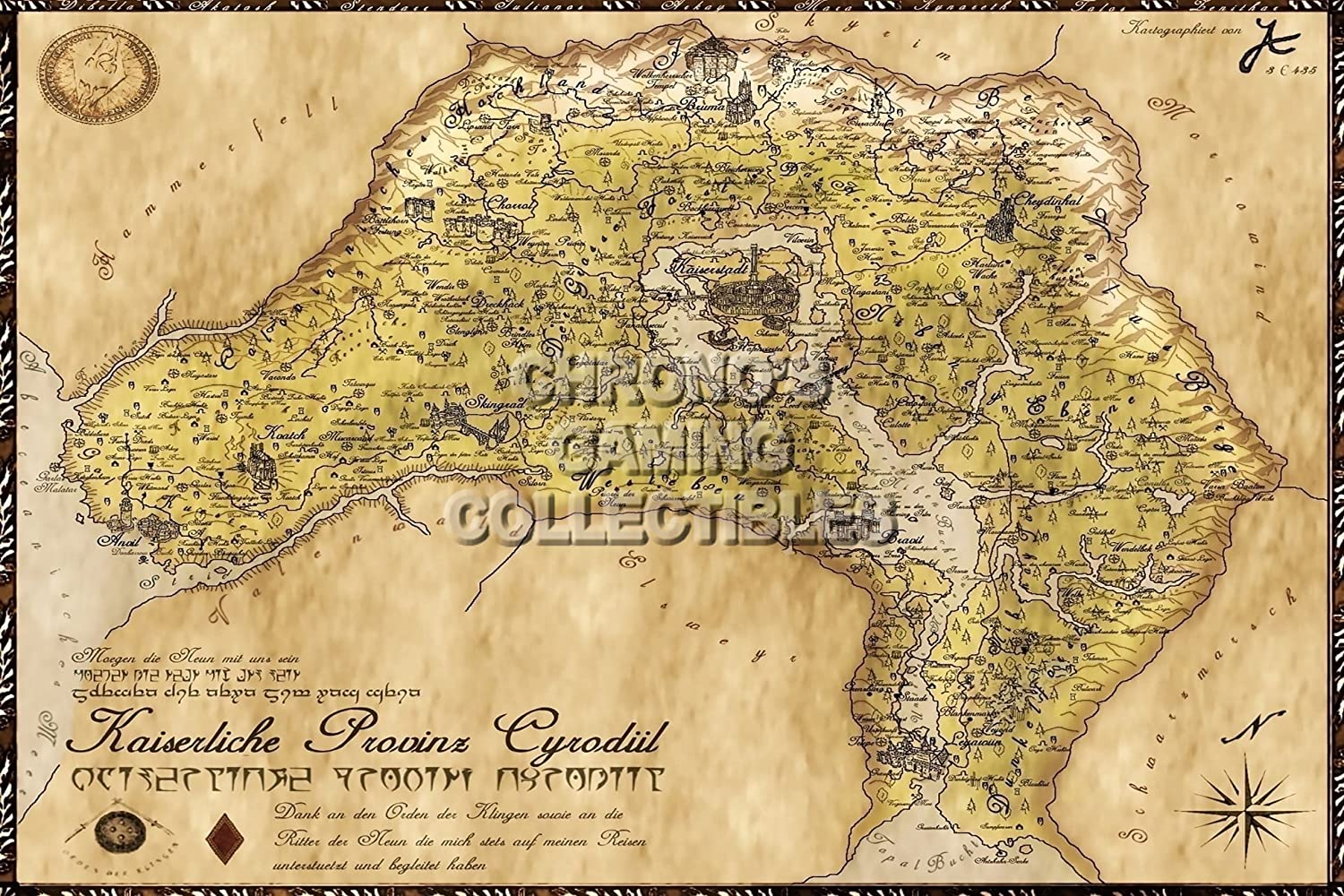 Amazon.com: CGC Huge Poster - Elder Scrolls IV Oblivion Map ... on rage map size, gta map size, fallout new vegas map size, morrowind map size, terraria map size, l.a. noire map size, simcity map size, guild wars 2 map size, just cause 2 map size, tomb raider map size, wow map size, skyrim map size, minecraft map size, mmo map size, game map size, assassin's creed map size, borderlands map size, oblivion map size, red dead redemption map size, daggerfall map size,