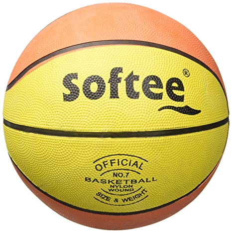 Softee 0001311 Balón de Baloncesto, Unisex Adulto, Naranja/Blanco ...