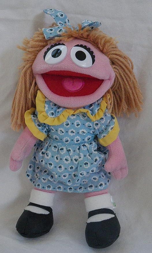 Sesame Street Large 17 Plush Prairie Dawn Sesame Place Doll