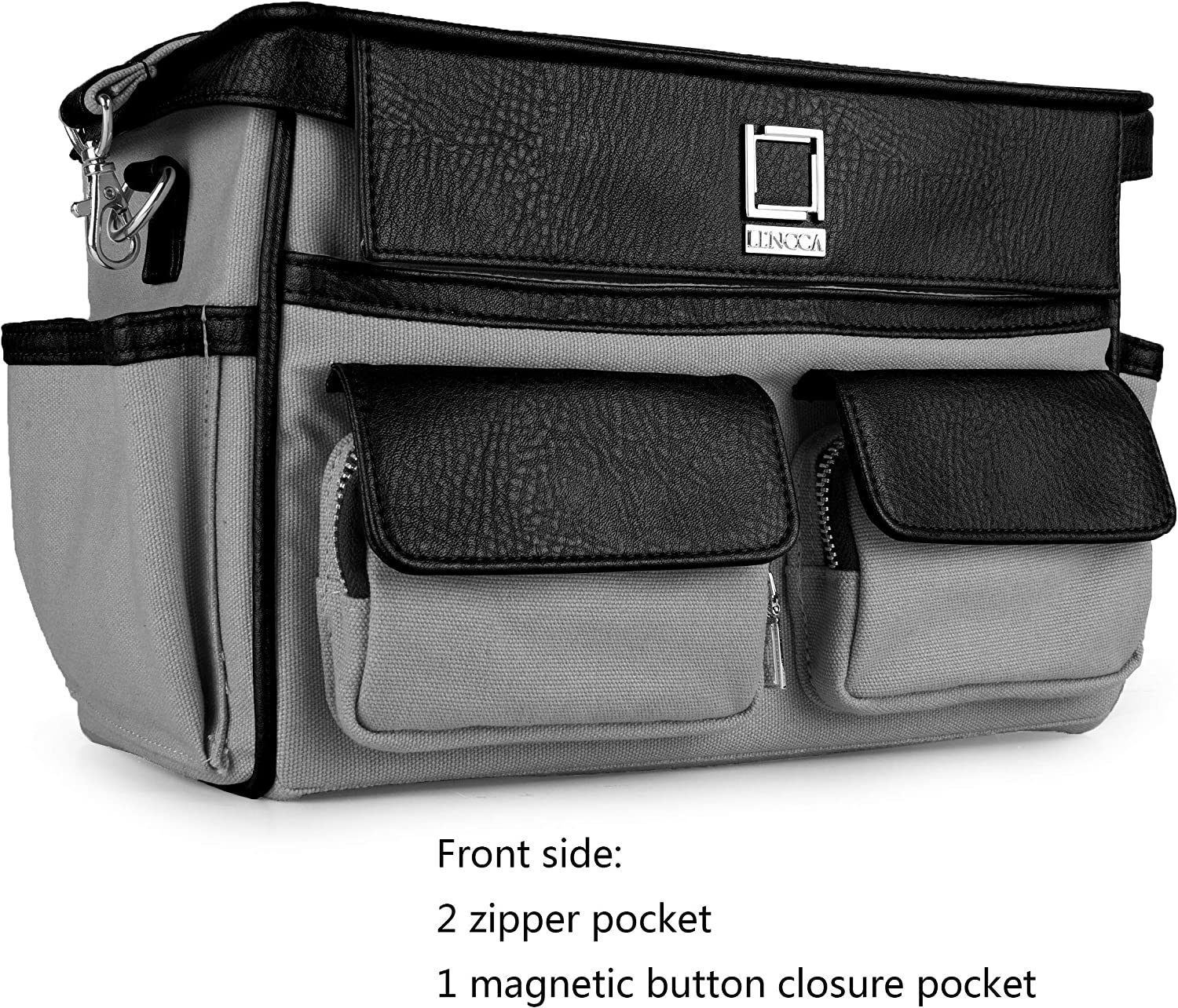 for Panasonic for Nikon for Kodak Professional Large Capacity Canvas DSLR SLR Padded Camera Case Bag with Shoulder Strap for Canon for Leica for Fujifilm for Olympus for Sony for Pentax