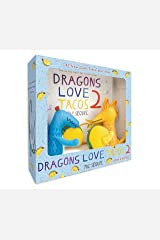 Dragons Love Tacos 2 Book and Toy Set Hardcover