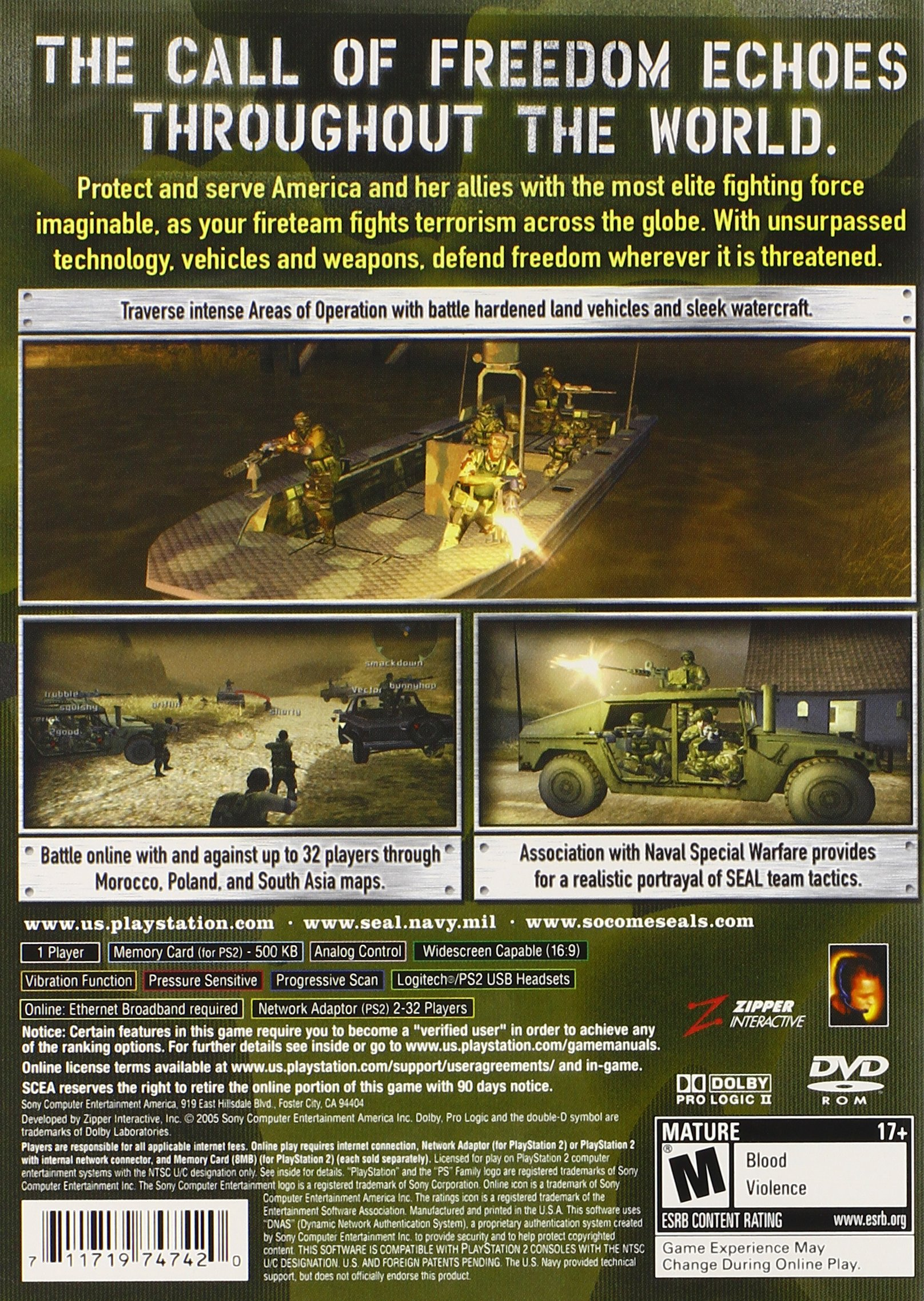 SOCOM 3 U.S. Navy Seals - PlayStation 2 by Sony (Image #2)