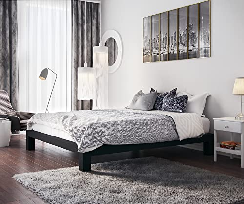 In Style Furnishings Stella Modern Metal Platform Bed Frame